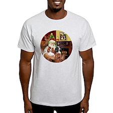 Santa-3Cavaliers T-Shirt