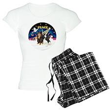 X-SUnrise-Two Cavaliers Pajamas