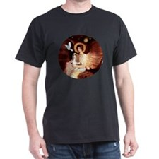 SeatedAngel-Cavalier (BL) T-Shirt