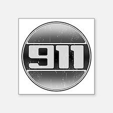 """911 copy Square Sticker 3"""" x 3"""""""