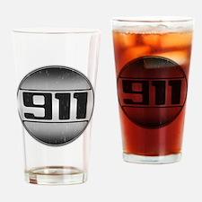 911 copy dark Drinking Glass