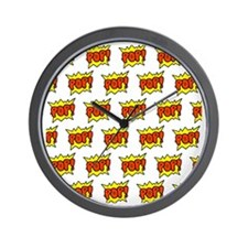 shower pop Wall Clock