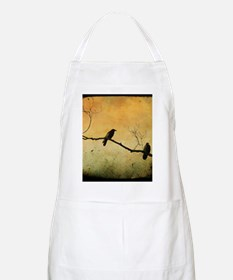 Two Crows On A Branch Apron