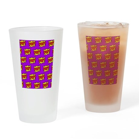 Pop Drinking Glass