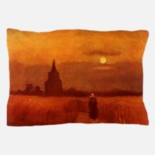 Van Gogh Old Tower Pillow Case