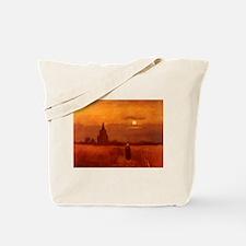 Van Gogh Old Tower Tote Bag