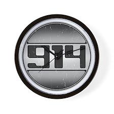 914 copy dark Wall Clock