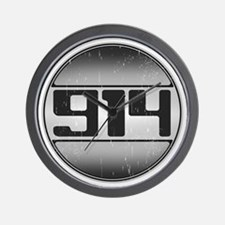 914 copy dark Wall Clock