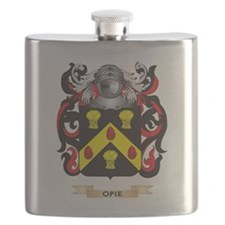 Opie Coat of Arms (Family Crest) Flask