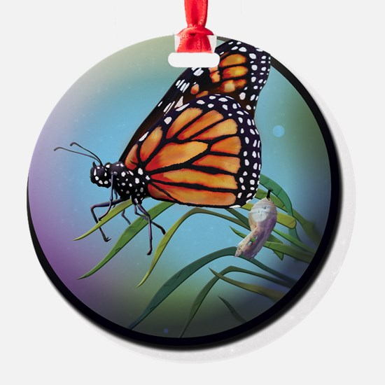 TSOR Monarch Butterfly Logo Ornament