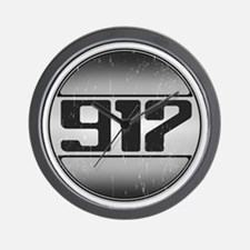 917 copy dark Wall Clock