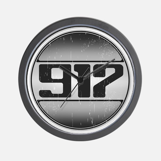 917 copy dark Wall Clock