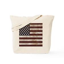 Vintage American Flag King Duvet 1 Tote Bag