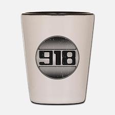 918 copy dark Shot Glass