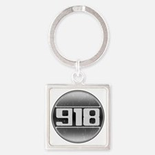 918 copy Square Keychain