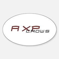 AXP Oval Decal