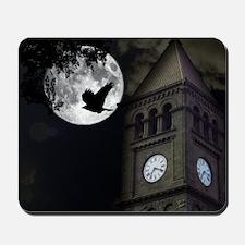 Clocktower in Moonlight Mousepad