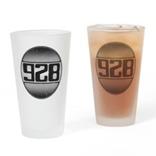 928 copy dark Drinking Glass