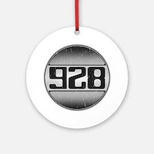 928 copy dark Round Ornament