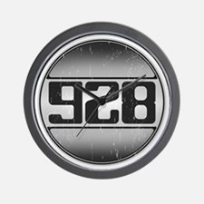 928 copy dark Wall Clock