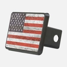 Vintage American Flag Hitch Cover