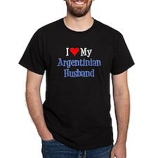 Love My Argentinian Husband T-Shirt