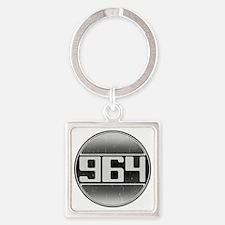 964 copy Square Keychain