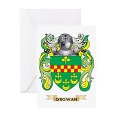 O'Rowan Coat of Arms (Family Crest) Greeting Card