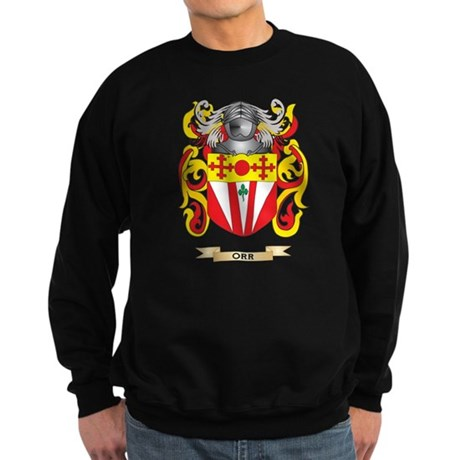Orr Coat of Arms (Family Crest) Sweatshirt (dark)