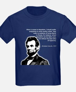 Abraham Lincoln Quote T