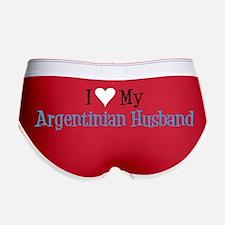 Love My Argentinian Husband Women's Boy Brief
