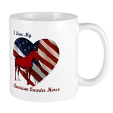 I love My American QH! Mug