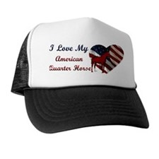 I love My American QH! Trucker Hat