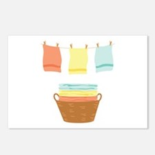 Clothes Line Postcards (Package of 8)