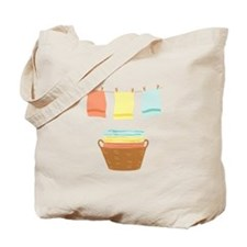 Clothes Line Tote Bag
