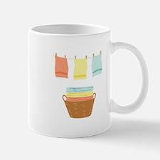 Clothes Line Mugs
