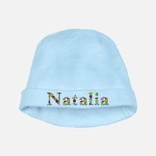 Natalia Bright Flowers baby hat