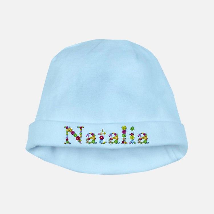 Natalia Bright Flowers baby hat