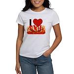 I LOVE Evil Conservatives Women's T-Shirt