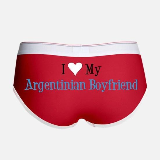 Love My Argentinian Boyfriend Women's Boy Brief