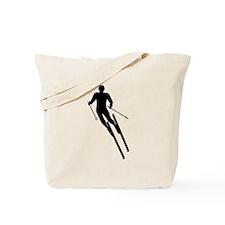 Ski Diamonds Tote Bag