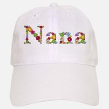 Nana Bright Flowers Baseball Baseball Baseball Cap
