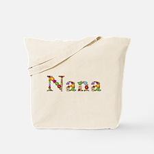 Nana Bright Flowers Tote Bag