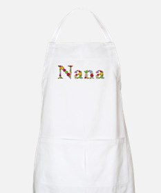 Nana Bright Flowers Apron