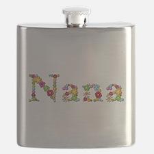 Nana Bright Flowers Flask