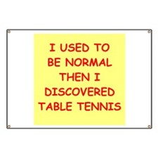 table tennis Banner