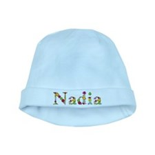 Nadia Bright Flowers baby hat
