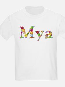 Mya Bright Flowers T-Shirt