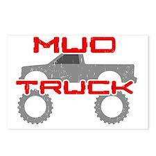 Mud Pickup Truck Postcards (Package of 8)