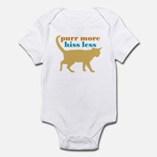 Purr More Hiss Less Infant Bodysuit